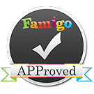 Famigo APProved badge for Best Educational Apps